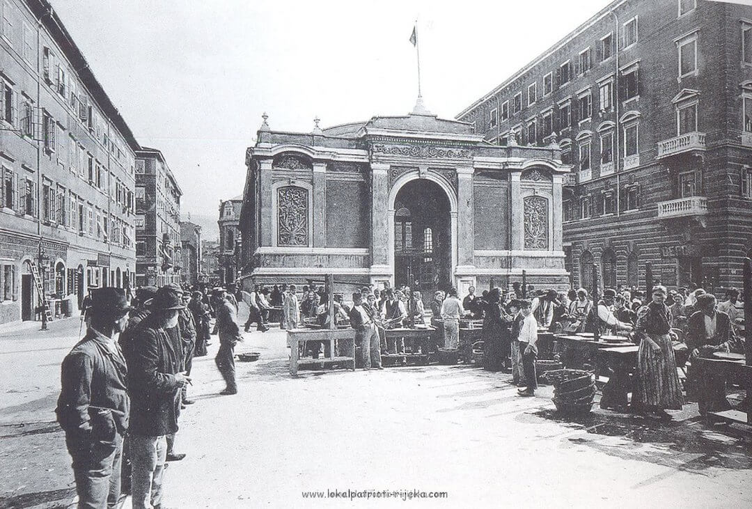 Rijeka market history