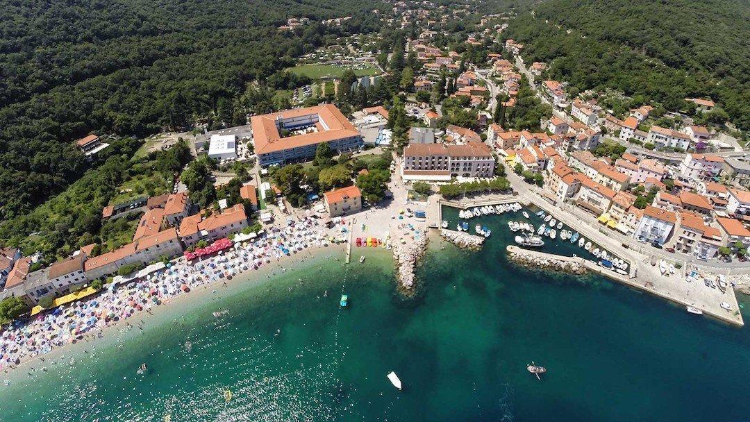 Kvarner Moscenicka draga Croatia