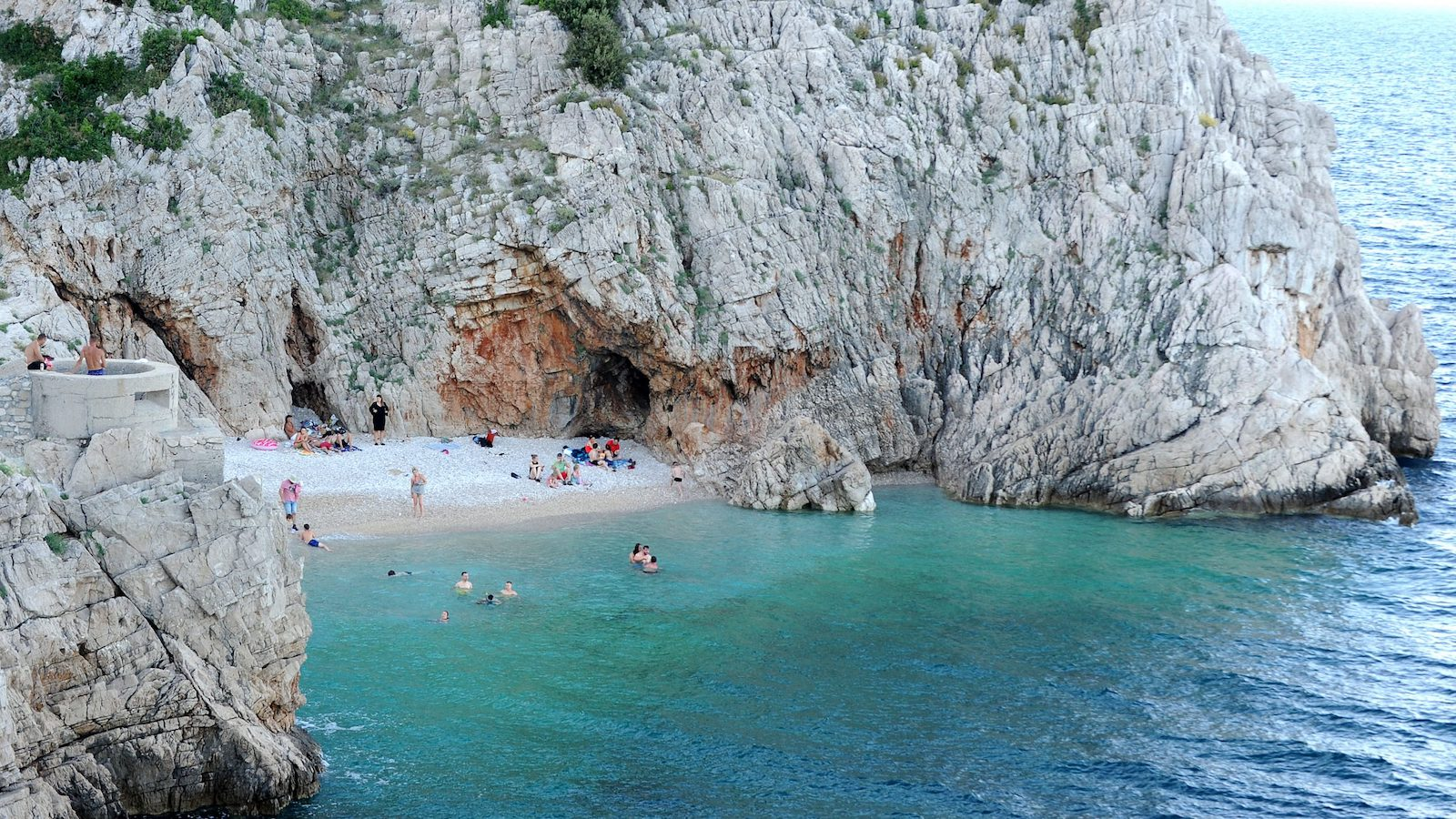 Rijeka Beaches Brseč